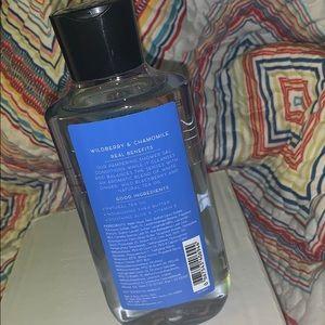 Bath & Body Works Other - Bbw wildberry & chamomile shower gel